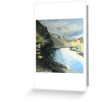 Tranquil Staithes Greeting Card