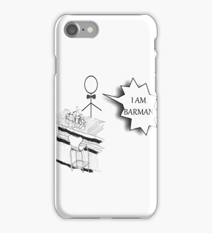 Barman iPhone Case/Skin