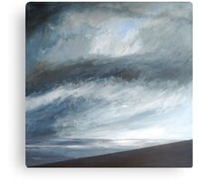 Storm Approaching, Cornwall Canvas Print