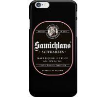 Samichlaus Beer iPhone Case/Skin