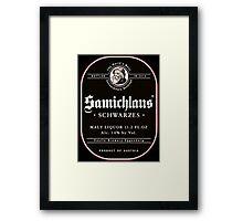 Samichlaus Beer Framed Print