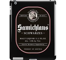 Samichlaus Beer iPad Case/Skin