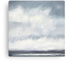 Storm Clearing, Cornwall Canvas Print