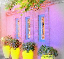 Marrakesh garden by Jules Osmany