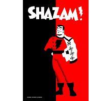 SHAZAM! Photographic Print