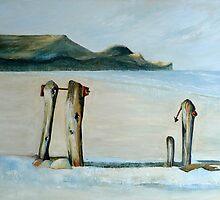 Summer Sandsend by Sue Nichol