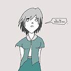 Zombie Girl by artbymike156