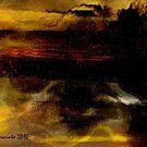 sad sunset by rogeriogranato
