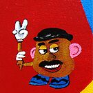 and the supporting cast..........Mr. Potato Head by WhiteDove Studio kj gordon