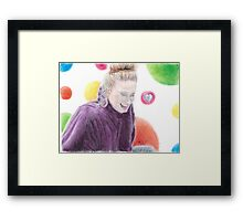 Day Dreamer - Featuring Adele Framed Print