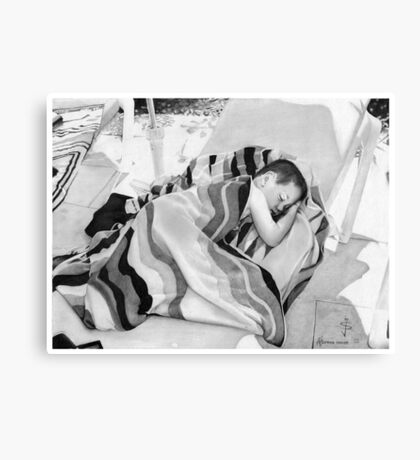 Afternoon snooze Canvas Print