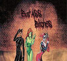Gotham City Sirens by austygreen