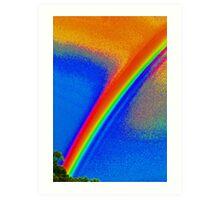Hope for Tomorrow - Manipulated Art Print