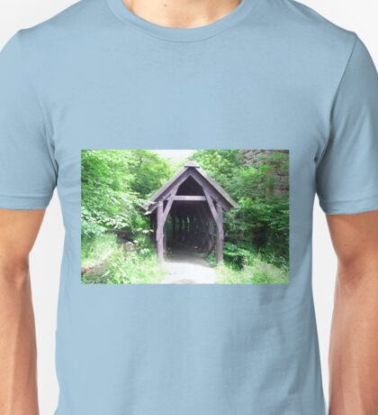 Covered walkway in Summer Unisex T-Shirt