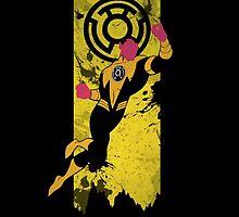 Yellow Lantern Corps Sinestro by Zabullionaire
