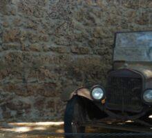 Old Car Sticker