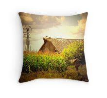 Grand Old Barn ! Throw Pillow