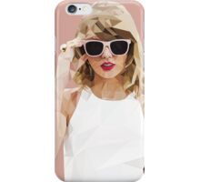 Taylor Swift Low-Poly iPhone Case/Skin