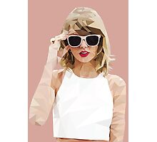 Taylor Swift Low-Poly Photographic Print