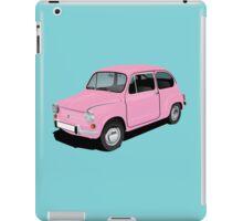 Retro automobile Fiat 600 iPad Case/Skin