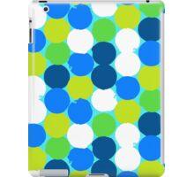 Bold geometric pattern with circles iPad Case/Skin