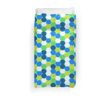 Bold geometric pattern with circles Duvet Cover