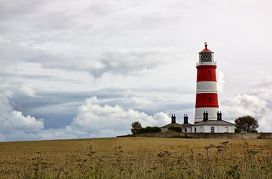 Happisburgh Lighthouse by Lynne Morris