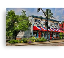 """ No Popcorn Shrimp Here "" Canvas Print"