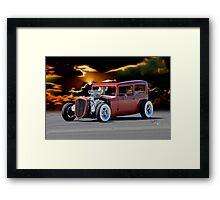 1935 Chevrolet 'Hot Rod' Sedan Framed Print