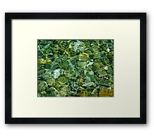 Dip in, said the Sea Framed Print