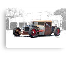 1930 Ford Roadster Pickup 'Red Hot Rat' Metal Print
