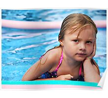 When are you coming in the pool? Poster