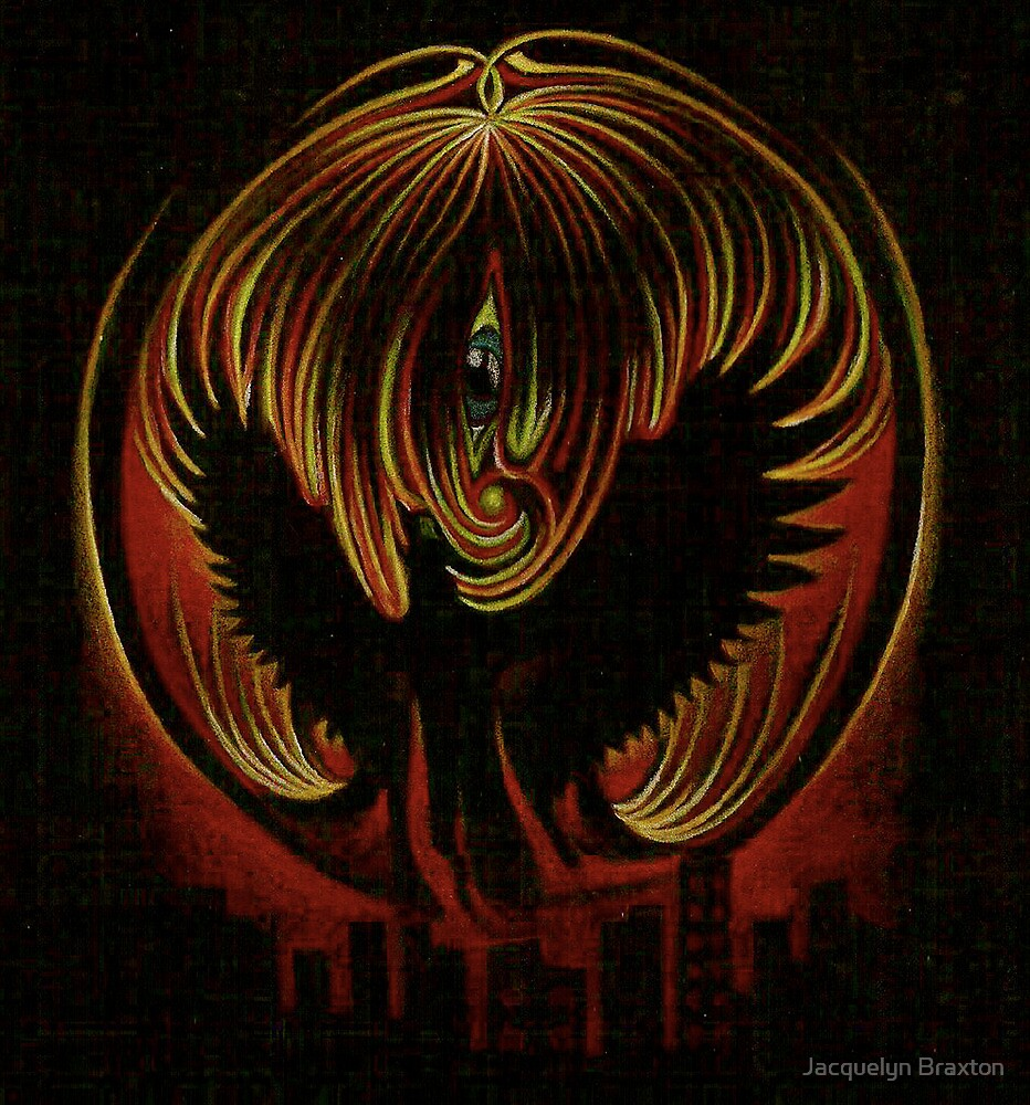 Dark phoenix by JacquelynsArt