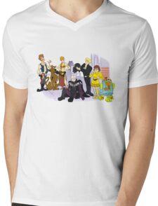 Pesky Rebels Mens V-Neck T-Shirt