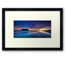 Dreamtime - a place between night and day Framed Print