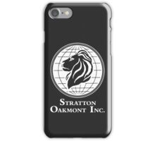 The Wolf of Wall Street Stratton Oakmont Inc. Scorsese (in white) iPhone Case/Skin
