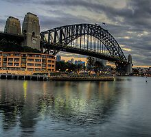 Underneath The Arches - Sydney Harbour Bridge - The HDR Experience by Philip Johnson