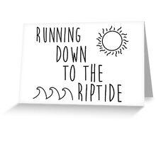 Vance Joy - Riptide Greeting Card