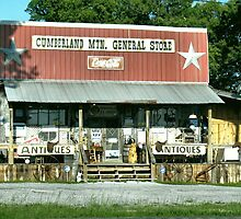 Cumberland Mountain General Store (color version) by © Bob Hall