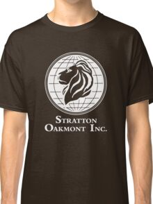 The Wolf of Wall Street Stratton Oakmont Inc. Scorsese (in white) Classic T-Shirt
