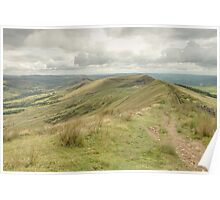 Mam Tor - The Peak District Poster