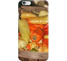 Pick Your Peppers! iPhone Case/Skin