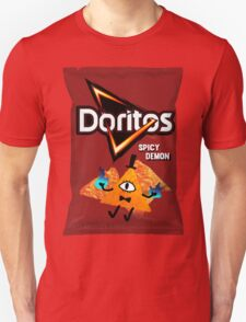 Bill Cipher Demon Doritos Unisex T-Shirt