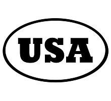 USA Photographic Print