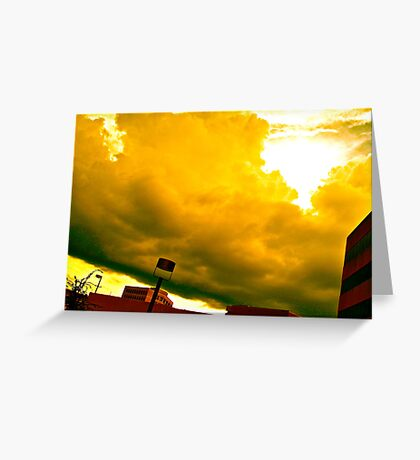The Sky Never Forgets Us Greeting Card