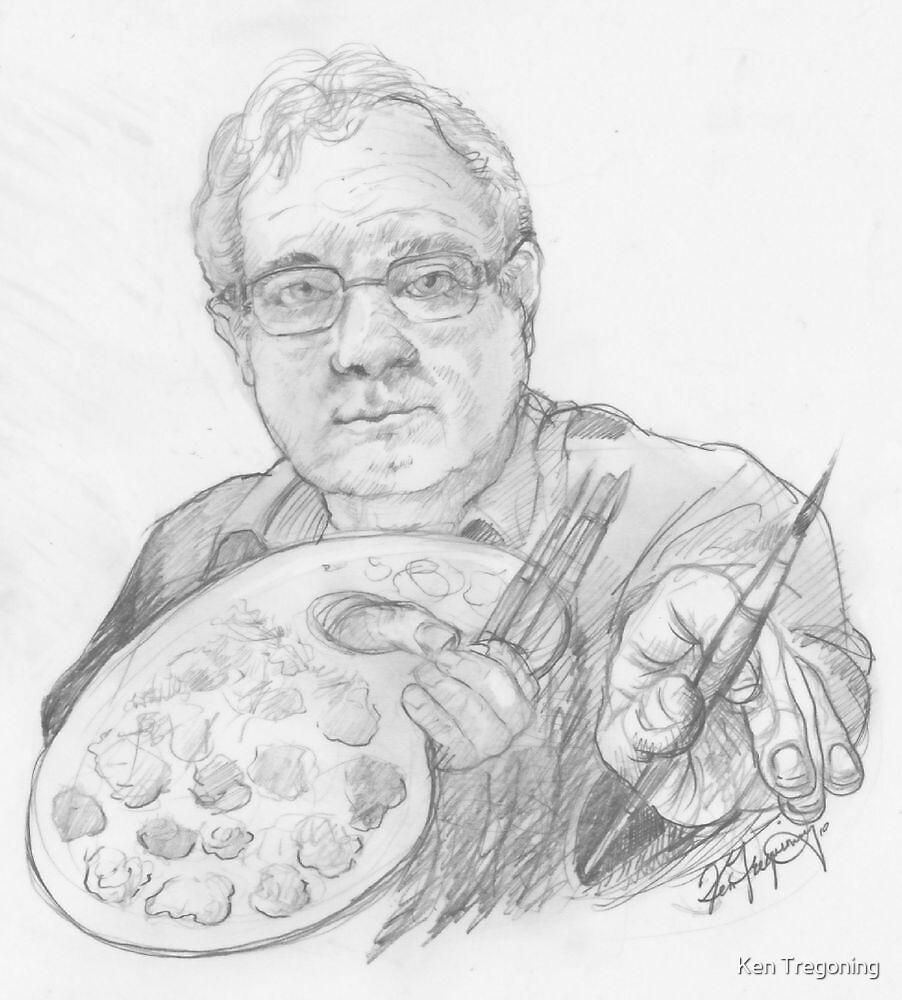 Ken the mollyduker by Ken Tregoning