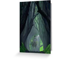 'Ware the Wood Wight Greeting Card