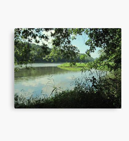 """Take Us To the River"" Canvas Print"