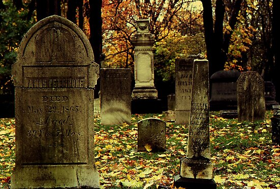 Cemetary in Michigan by Phil Campus