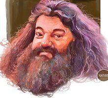 Hagrid : harry potter character by Scintillaandme